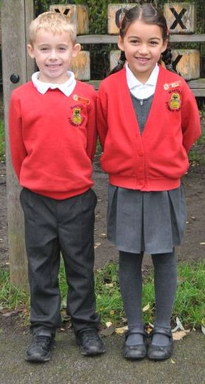 We're very proud of our school uniform!